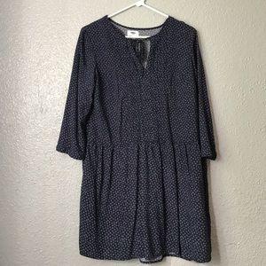 Old Navy 3/4 Sleeve Dress